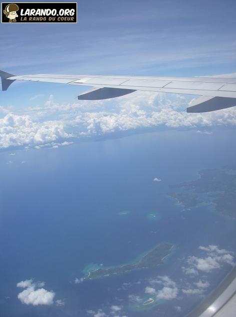Photos des Philippines en avion