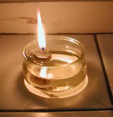 lampe à huile survie