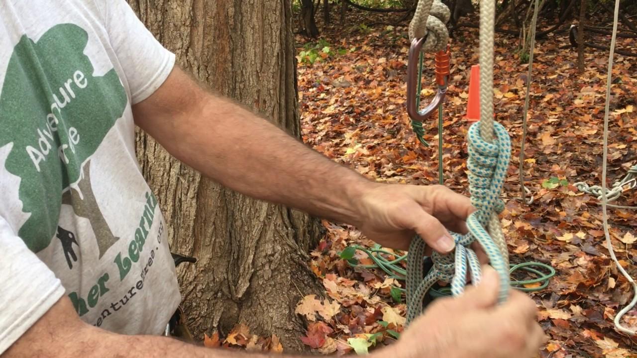 Tuto pour faire un noeud de prusik